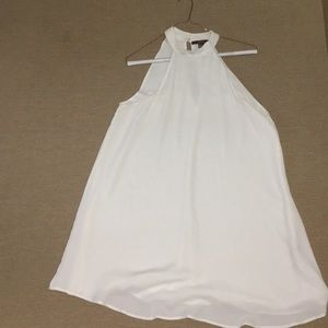 Cream Halter Neck Dress